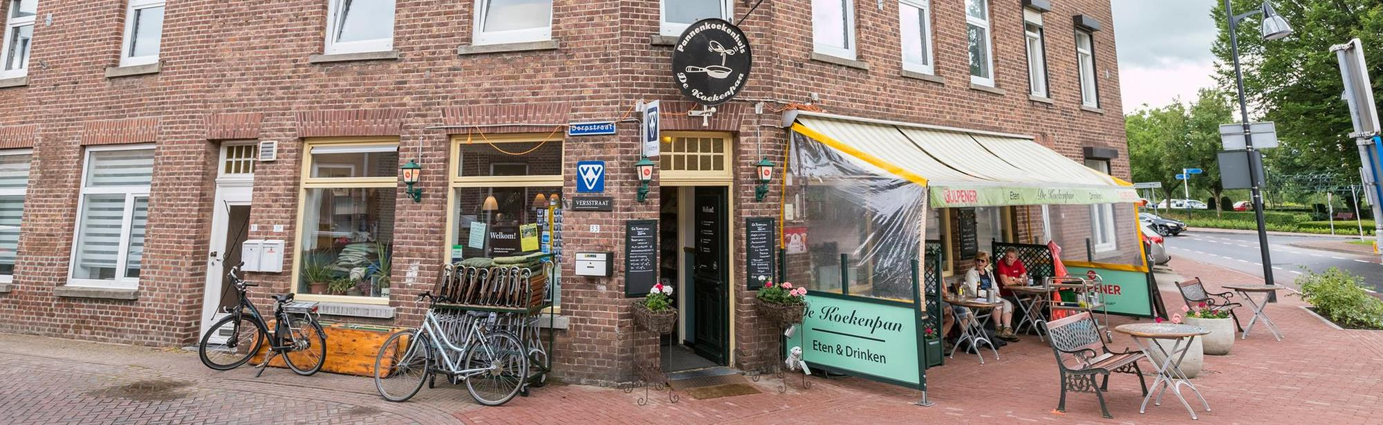 Visit Zuid-Limburg Folderpost St. Geertruid, Rest. De Koekenpan