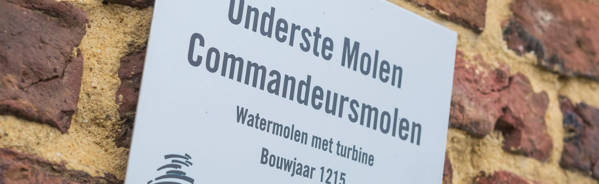 Onderste Molen/Commandeursmolen
