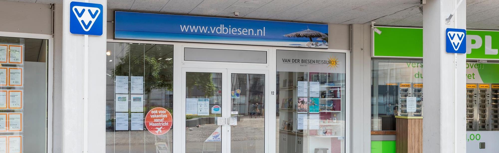 Visit Zuid-Limburg Servicepunt Landgraaf Van der Biesen Reisburo