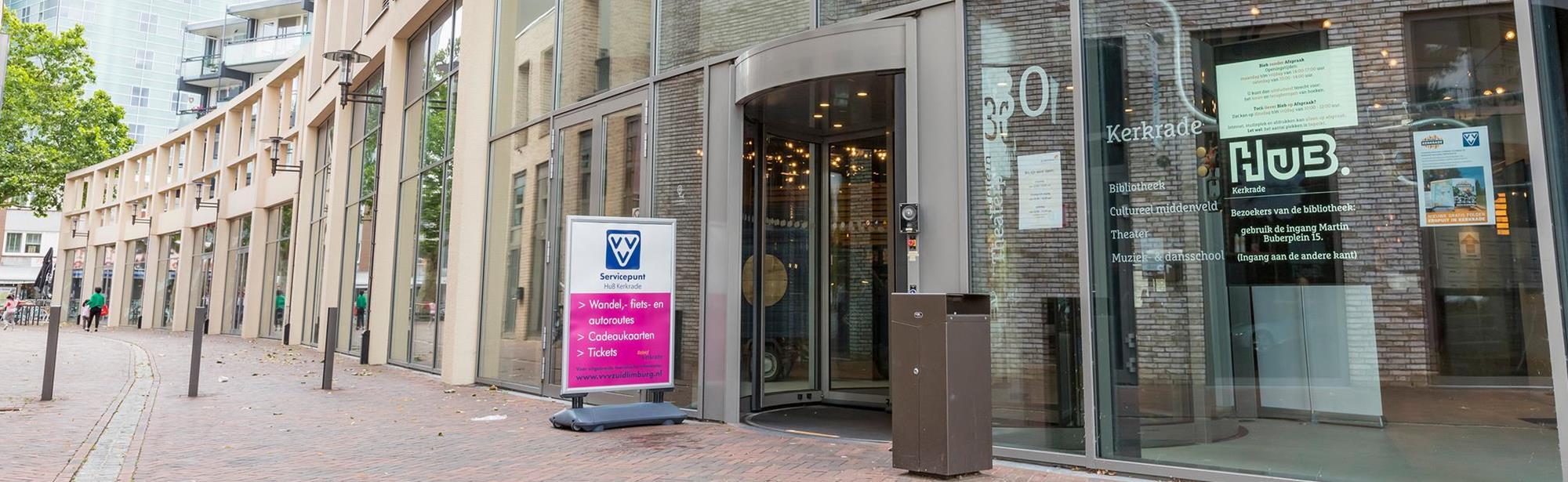 Visit Zuid-Limburg Servicepunt Kerkrade, HuB Kerkrade