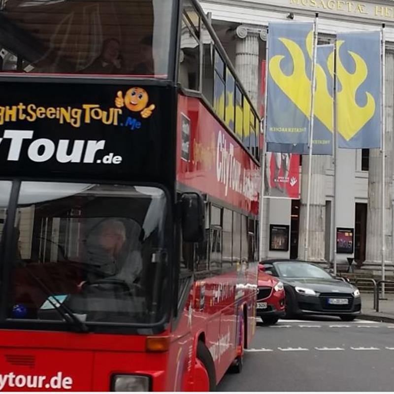 Hop On Hop Off CityTour Aachen  - Foto 1