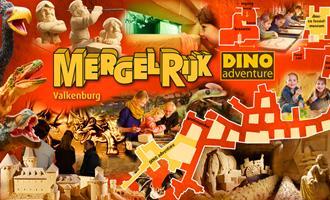 Grot met Dino's, Miniaturen, Mergel- en Zandsculpturen!