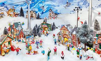 Kerstminiaturen in MergelRijk - 15 november t/m 5 januari