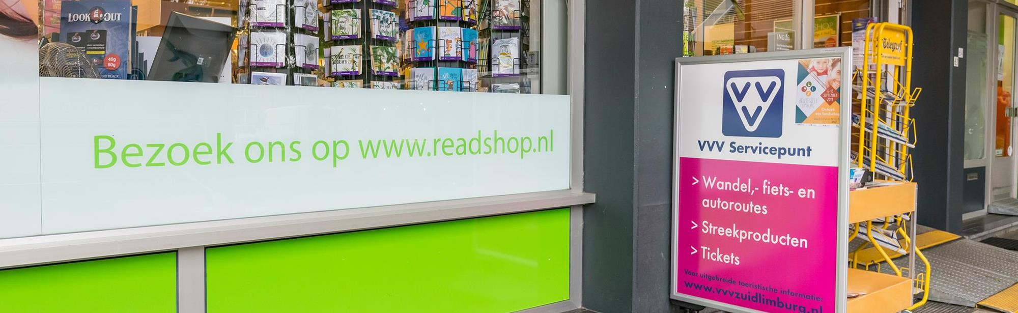 Visit Zuid-Limburg Servicepunt Beek, Readshop Beek