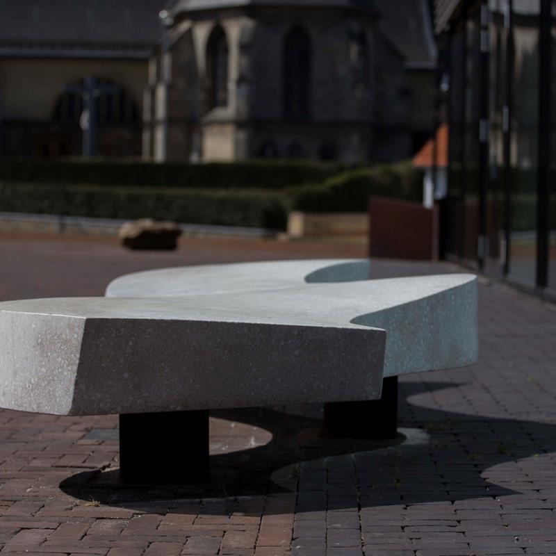 Kunstwerk The Love Bench - Foto 1