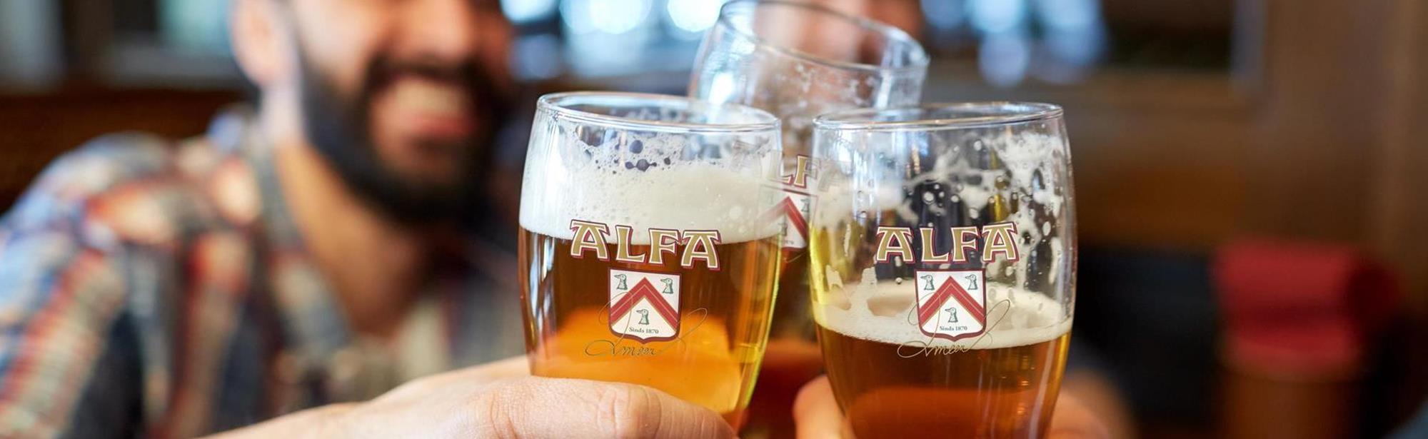 ALFA Bierbrouwerij rondleiding