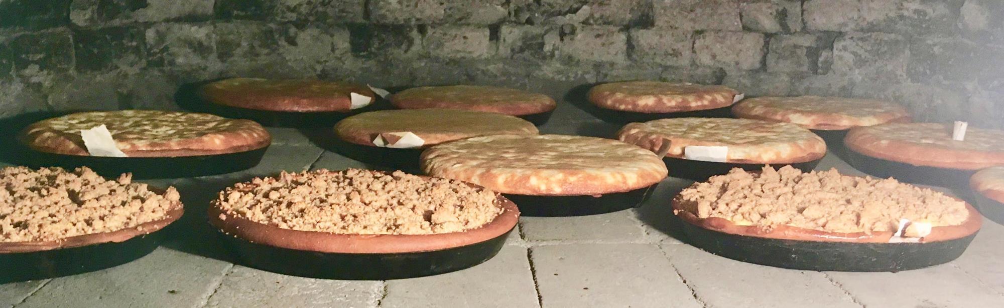 Workshops brood en Limburgse vlaai bakken