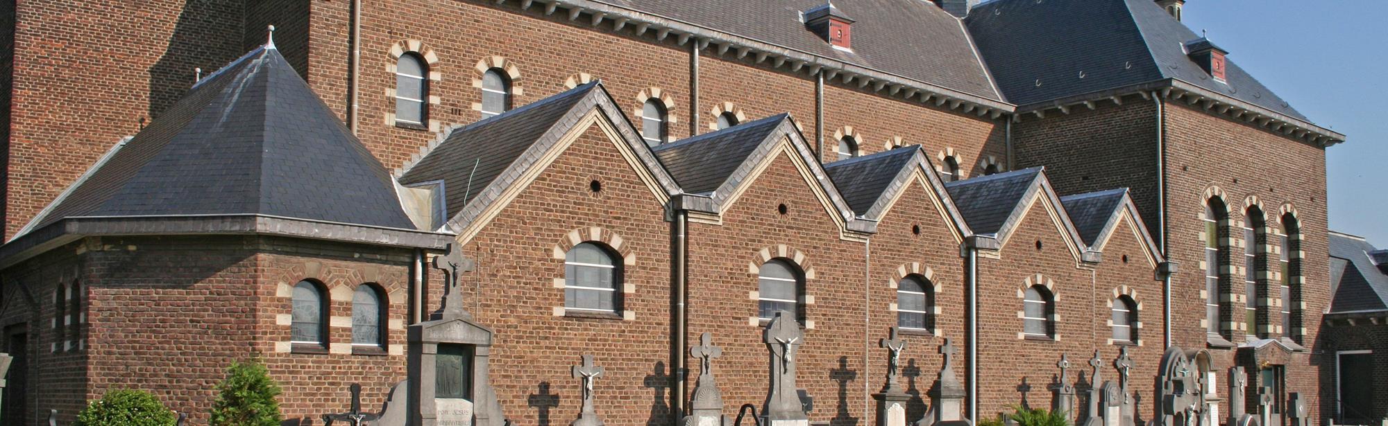 De kerk van de H. Clemens