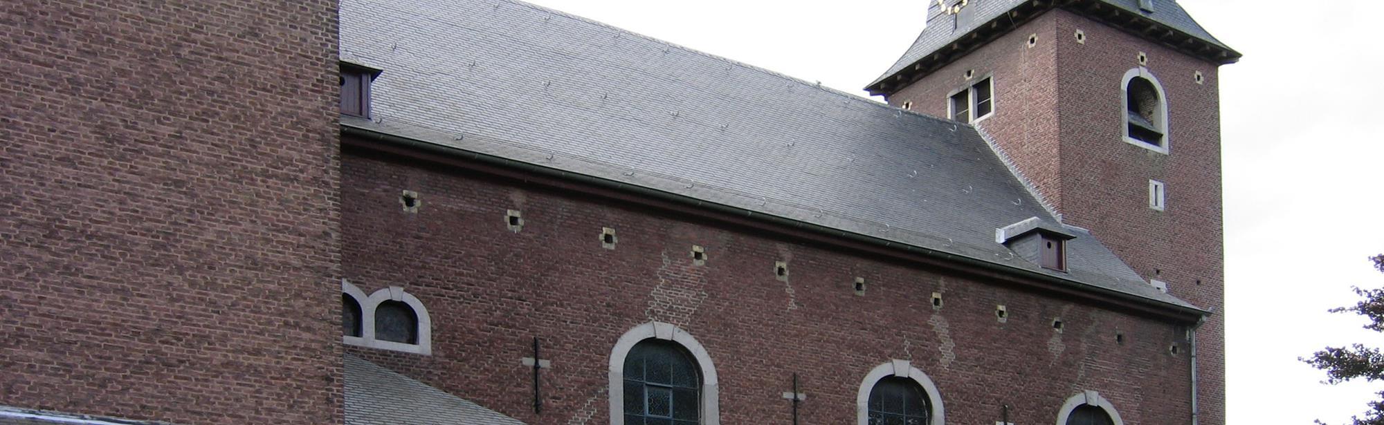 De kerk van 'Sint Bavo'